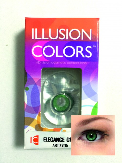 Illusion Elegance green