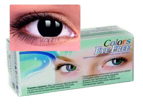 eye free colors черное бельмо